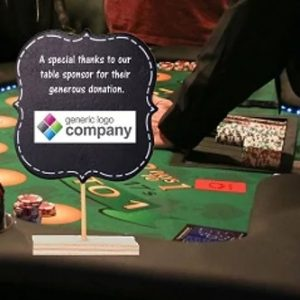 CASINO NIGHT | Table Sponsor